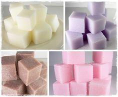 DIY – How To Make Sugar Scrub Cubes   DIY & Craft Ideas