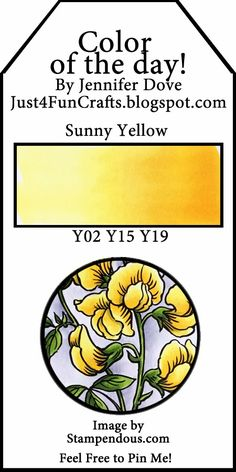 Color of the Day 94: Sunny Yellow
