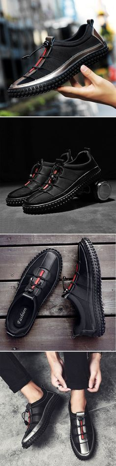 Honest Big Size 45-48 Men Sandals Leather Summer Lace-up Sewing Cozy Dress Shoes For Men Hollow Non Slip Peas Shoes Male Fashion Modern Design Men's Sandals Shoes