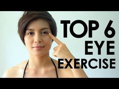 Eyesight Exercise To Better Care For Your Eyes - Eye Care Tips Natural Remedy For Hemorrhoids, Eye Sight Improvement, Face Yoga, Facial Exercises, Eyes Problems, Diy Skin Care, Cool Eyes, Excercise, Get Healthy