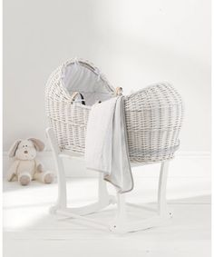 Mothercare Pure Collection Moses Basket