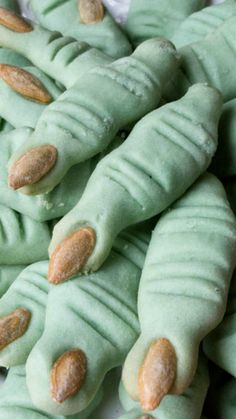 Halloween Witches' Finger Cookies ~ Sugar Free, Gluten free