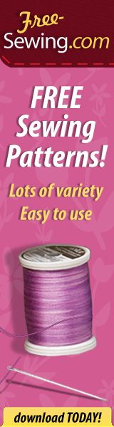 Another great collection of free sewing patterns and tutorials submitted by readers.