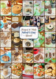 Father's Day Recipes by The Sweet Chick