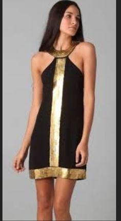 Short dress in modern look
