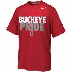Nike Ohio State Buckeyes Buckeye Pride Local T-Shirt - Scarlet - XXL - $25