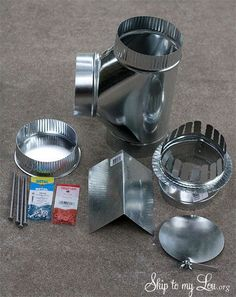 DIY   How to build a cook stove: cook stove supplies