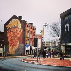 Celebrating early Sheffield street art (photo by @stephensphotography on IG) #socialsheffield #sheffield