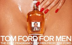 Funny photo effects Make Tom Ford advertisment on PhotoFaceFun