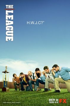 FUNNY FUNNY, ME LOVES IT. Created by Jackie Marcus Schaffer, Jeff Schaffer.  With Mark Duplass, Nick Kroll, Jonathan Lajoie, Stephen Rannazzisi. Semi-scripted comedy about a fantasy football league.