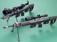 The DSR-1 is a compact bolt-action rifle designed, manufactured and marketed by the German company DSR-Precision GmbH and was (until 2004) marketed also by the German company AMP Technical Services as a specialized sniper rifle for police sharpshooters. It has been adopted by the German GSG 9 counter-terrorist unit, as well as by other European special police units and agencies.