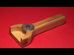 How To Make An Awesome Wooden Bottle Opener - DIY Crafts Tutorial - Guidecentral - YouTube