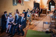 Nervous looking groom takes deep breath at covid safe church wedding ceremony in Dorset. Documentary wedding photograph by one thousand words wedding photographers Church Wedding Ceremony, One Thousand, Deep Breath, Documentary, Photographers, Groom, Church Weddings, The Documentary