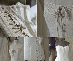 Various Corset Styles ~