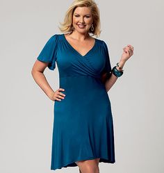 B5794 Womens' Dress