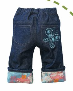 Project Pomona Butterfly Kisses Baby Jeans