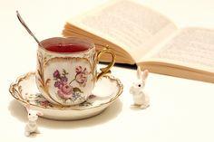 rabbits and tea i heart you