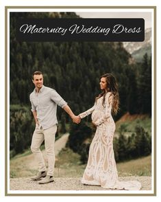 Maternity Dresses For Baby Shower, Maternity Gowns, Maternity Session, Maternity Wedding, Pregnant Wedding Dress, Olive Avenue, Pregnant Couple, Wedding Gowns, Bridal Gowns