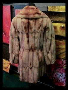 Retro Sable Color Russian Squirrel or Bisim Real Fur Fitted Sex in City Style | eBay auction at $21,75 now 1 day left