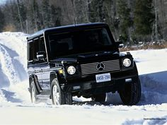 Who needs to worry about their driving skills when they're driving a Mercedes G-wagon?!? Not meee!!!!