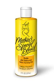 Mother's Special Blend - Skin Toning Oil - Helps Prevent Stretch Marks Naturally - Pregnancy Skin Lotion with no chemical ingredients, no perfumes