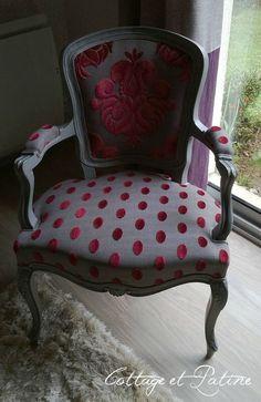 Relookîg fauteuil voltaire                                                                                                                                                                                 More