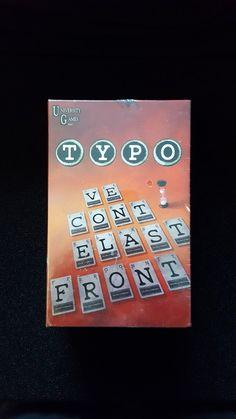 """""""Typo"""" jeu de lettres et de mots"""
