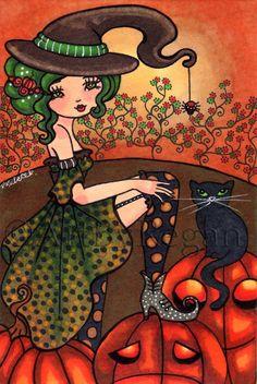 The Witches Stockings by Regan Kubecek