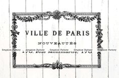 Vintage Digital Collage Sheet Vintage French by GraphicsFactory1, $1.00
