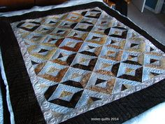 Simplicity - mmm quilts. Strip tube quilt