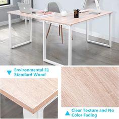 Rosenblatt L-Shape Credenza desk Large Computer Desk, Computer Desk Chair, Pc Desk, Gaming Desk, Home Desk, Home Office Space, Home Office Desks, Office Furniture, Office Necessities