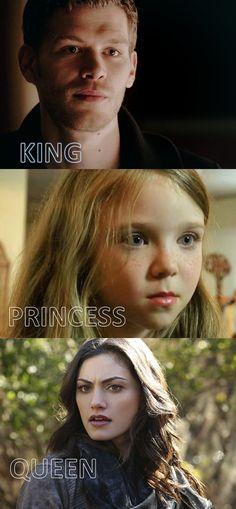 The Originals Klaus, Hope, Hayley