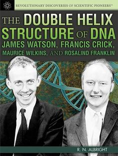 This unique look at the study of DNA goes beyond the science and explores the lives of four great scientists: James Watson, Francis Crick, Maurice Wilkins, and Rosalind Franklin. (Grades: 7-12) Call number: QP624 .A415 2014