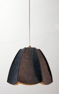 Dolores Pendant - Anthracite contemporary pendant lighting