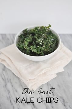 The Best Kale Chips