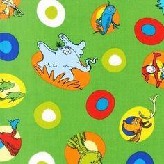 New Dr. Seuss Cat in the Hat BUNDLE Fat by poppyseedfabrics