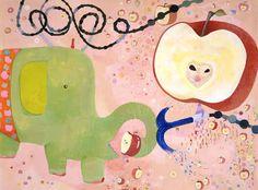 Japanese artist Chinatsu Ban… Thank you Ebony Bizys, a senior designer at Vogue Living. Neo Pop, Paper Installation, Art Fund, Small Elephant, Takashi Murakami, Japanese Artists, Paper Background, Public Art, Contemporary Art