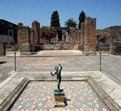 La casa del fauno a Pompei