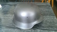 Relic WW2 ORIGINAL German ARMY M42 Stahlhelm Helmet WWII East Front SHELL