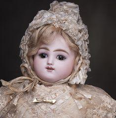 "17"" Bebe Doll Gigoteur by Jules Steiner"
