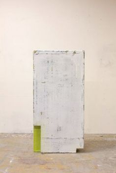 Thomas Øvlisen, Uncertain Flat Top, 2009 autolacquer, enamel on fiberglass, and polystyrene foam, 48 x 23 1/2 x 8 3/4 inches