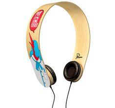 I <3 Bent wood.  David Burel + Parra Headphones Photo