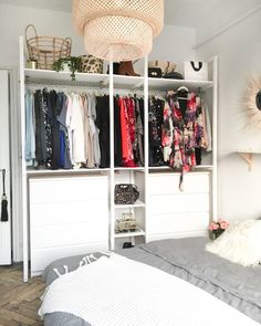 storage How to make your dressing room be ., Source by hsimmssole rangement Diy Dressing, Dressing Room, Walk In, Closet Storage, New Room, Smart Home, Home Furniture, Interior Decorating, Interior Design