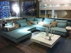 Our grey ikea s derhamn sofa house pinterest grey for Canape ikea soderhamn