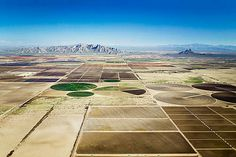 Eloy, Arizona, USA - Alex Maclean