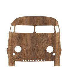 These popular, cute, fun wall lamps by Ferm LIVING are made from smoked oak veneer, they will add a soft light for reading or playing by & bring a touch of creative style to your little ones rooms, available in several designs. Classic VW camper design for adventure kids