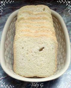 Ildy G. - gasztro és kreatív blogja: Fehér kenyér kenyérsütőgépben Bread, Blog, Brot, Blogging, Baking, Breads, Buns