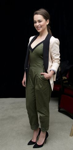 Emilia Clarke – 'Game of Thrones' Season 4 Press Conference in New York City