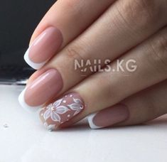 What manicure for what kind of nails? - My Nails Round Nails, Oval Nails, My Nails, Wide Nails, Pointy Nails, French Nails, Space Nails, Wedding Nails Design, Healthy Nails