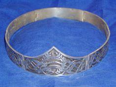 10th Century Norse Silver Laurel Circlet